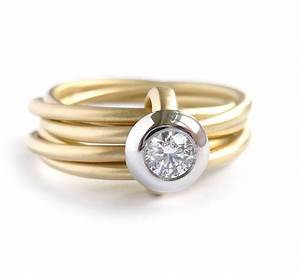 modern gold and platinum 6 band enagement wedding ring With jewellery wedding rings