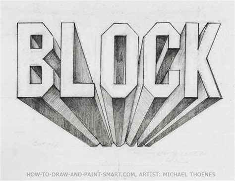 how to draw letters in 3d draw 3d block letters 50276