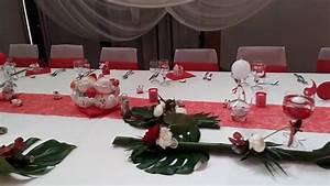 Décoration Mariage Rouge Et Blanc : mariage rouge et blanc th me japonais zen youtube ~ Melissatoandfro.com Idées de Décoration