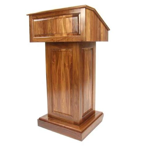 podium plans   woodworking stand