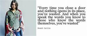 Brandi Carlile&... Carlile Quotes