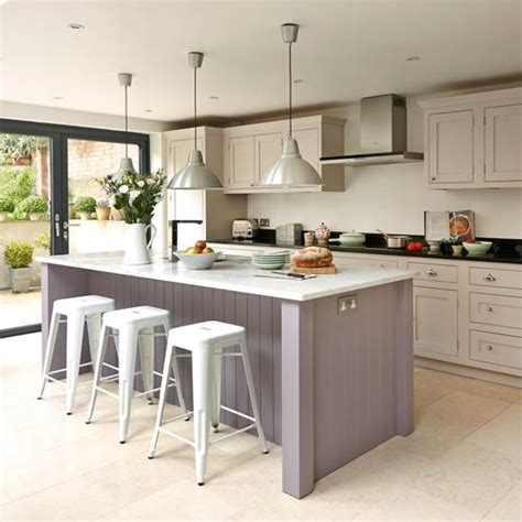 kitchen island units uk take a look at this bespoke budget kitchen housetohome