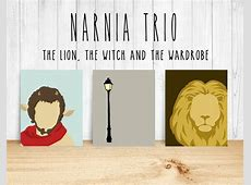 NARNIA Minimalist Trio THE LION THE WITCH AND THE