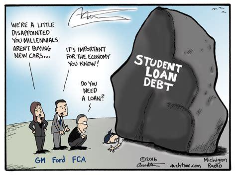 auchters art crushing student debt michigan radio