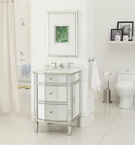 Mirrored bathroom vanities modern vanity for bathrooms for Vanities for bathrooms