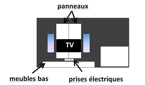 comment fabriquer un support mural tv pose d une tv sur un panneau mural