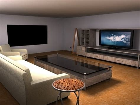 maya modeling tutorial modeling  living room part