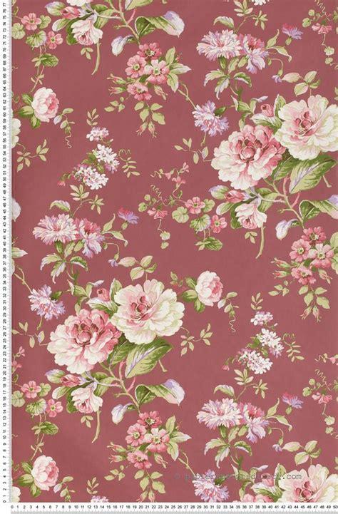 papier peint de chambre 1000 idées à propos de papiers peints fleuris sur