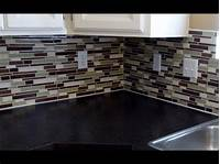 how to install glass mosaic tile How to install a glass tile backsplash REAL DIY TIPS - YouTube
