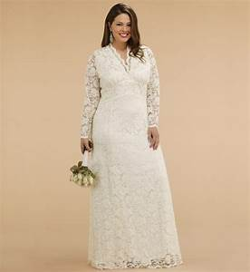 Plus size lace jacket wedding dress vintage e fashion help for Lace wedding dress plus size