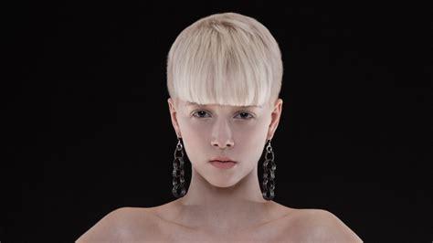 cool short blond hair  fashion conscious scandinavian girls
