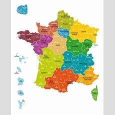 La Carte Définitive Des 13 Régions De France Adoptée à L'assemblée  Sud Ouestfr