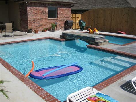 Gemauerter Pool Kosten by Inground Pool Photos Lafayette Pools Broussard