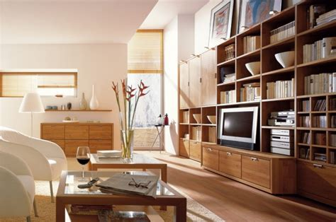 Wooden Finish Wall Unit Combinations From Hulsta by Wooden Finish Wall Unit Combinations From H 252 Lsta Showme
