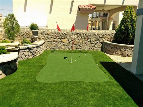 Cost Of Backyard Putting Green - synthetic grass cost mead valley california putting green