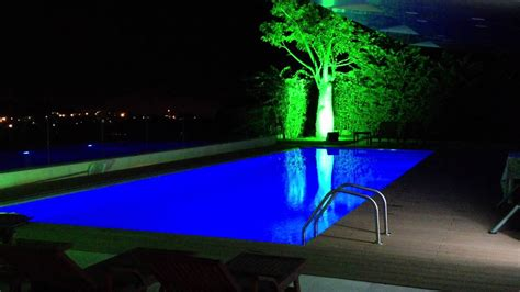 swimming pool led lights 29 amazing swimming pool game items for fun loving people