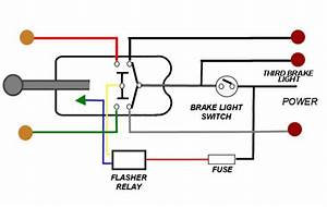 Brake Light Wiring With 3 Wire Turn Signal Help