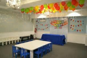 Birthday Party Room