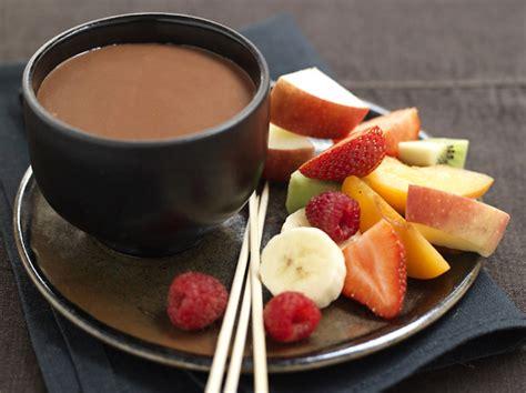 fondue au chocolat et fruits frais diab 232 te