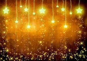 Beautiful Stars Light Gold High Quality In HD Wallpaper ...