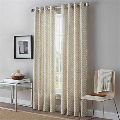 Grommet Curtain Window Panel Curtains 63 Inch