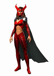 Marvel Heroes Scarlet Witch Costumes