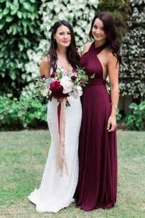 maroon bridesmaid dress best 25 wine bridesmaid dresses ideas on special occasion dresses