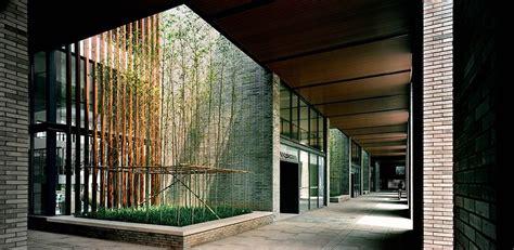 Semioutdoor Corridor With Atriums That Encourages The