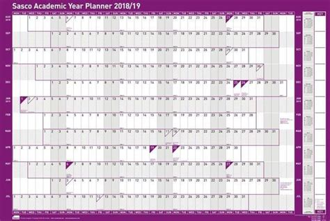 sasco unmounted academic year planner sasco planners