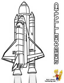 NASA Space Shuttle Coloring Pages