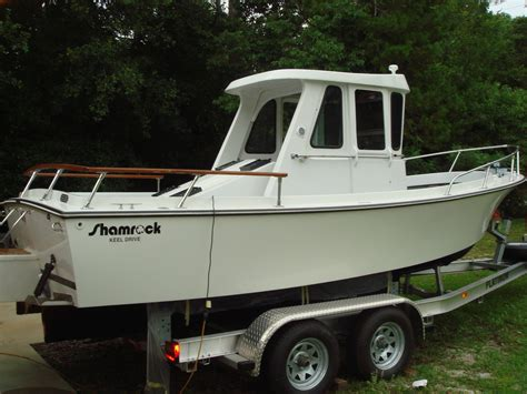 Types Of Pilot House Boats by Shamrock Pilot House 1986 For Sale For 19 750 Boats