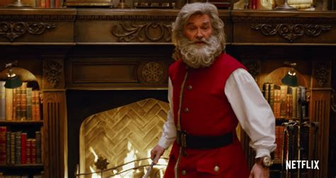 kurt russell  play santa   christmas