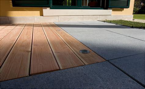 Terrasse Holz Und Stein kombinierte holz stein terrasse mit hornbach