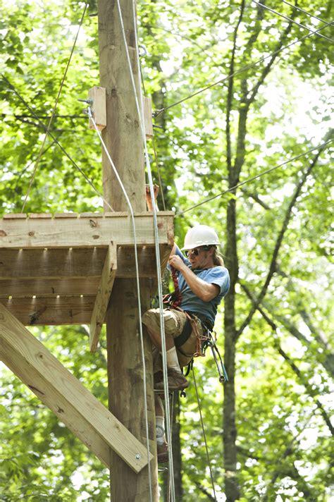 outdoor adventure ropes  upgraded university
