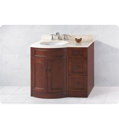 left side sink vanity ronbow 060624 621212l f13 marcello 36 quot bathroom vanity set