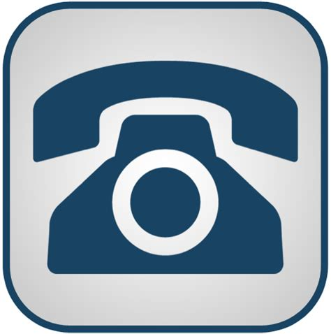 blue link phone number telephone free icon clipart best