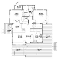 Small Style House Plans Modern Style House Plan 2 Beds 1 Baths 800 Sq Ft Plan 890 1