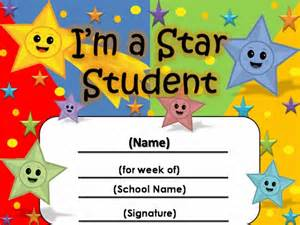 Student of the Week Certificate Template