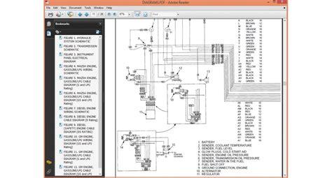 Hyster Alternator Wiring Diagram by Hyster H2 00xl H2 50xl H3 00xl H40xl H50xl H60xl Service