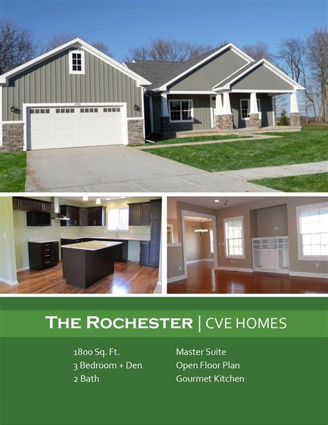2 bedroom house plans home floor plans ranch the rochester 13935 | R1800 Rochester