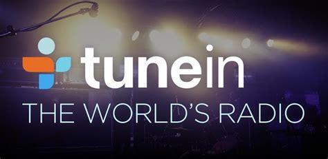 tune in radio tunein radio update adds sign in calendar integration