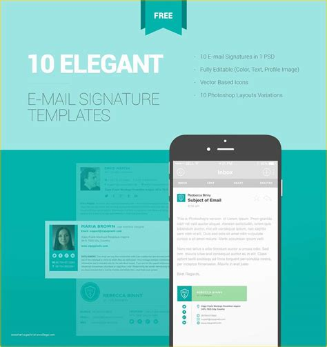 Free Email Signature Templates Of Utemplates Free Email ...