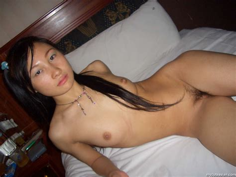 Two Super Sexy Asian Brunette Babes Lesbian Sex On The Bed