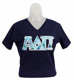 you are always wearing your letters on pinterest bid day With adpi letter shirts