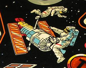 1984 Space Shuttle Pinball Arcade Game Parts And Operation