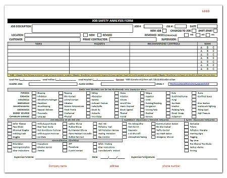 hazard assessment template hazard analysis template the free website templates