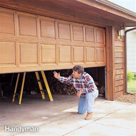 Garage Door Tuneup  The Family Handyman