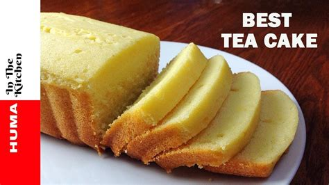 Soft Buttery Tea Cake Recipe Without Oven