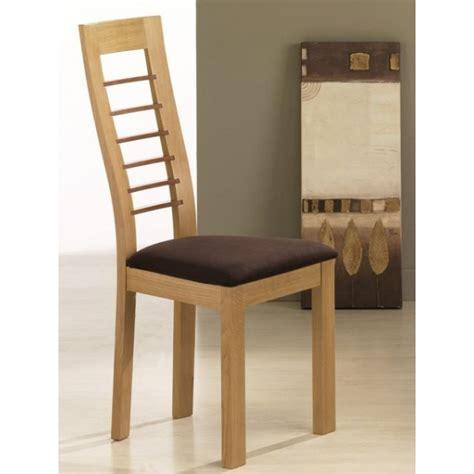 chaise de salle a manger contemporaine chaise en bois contemporaine cannelle