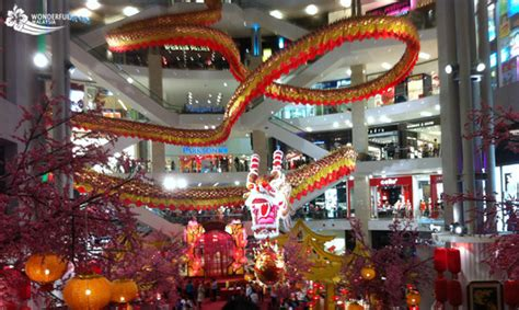 chinese  year  malaysia attractions wonderful